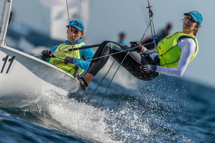 זהב לשייט הישראלי: סער תמיר וניתאי חסון זכו באליפות אירופה