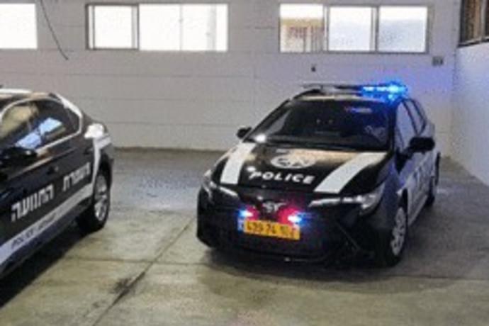 המשטרה חושפת ניידות חדשות עם עיצוב מפתיע