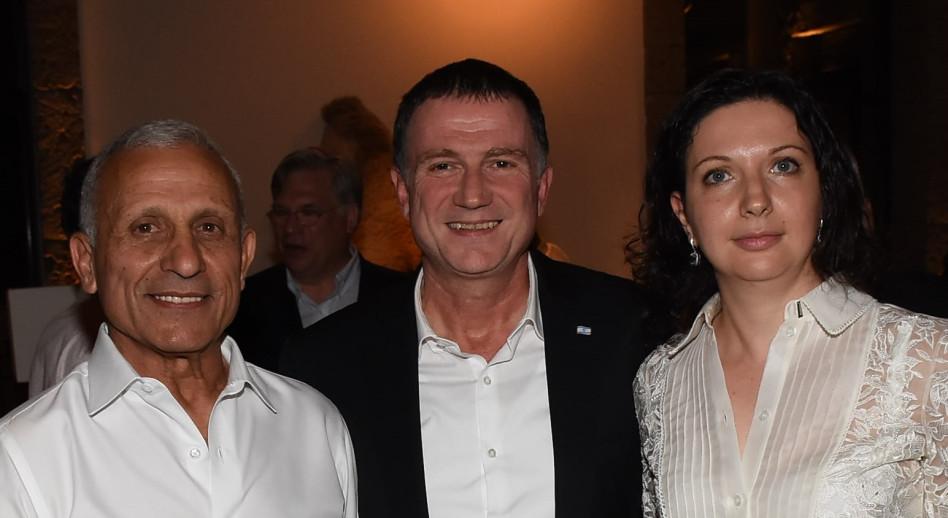 אירינה נבזלין, יולי אדלשטיין ואיתן בן אליהו