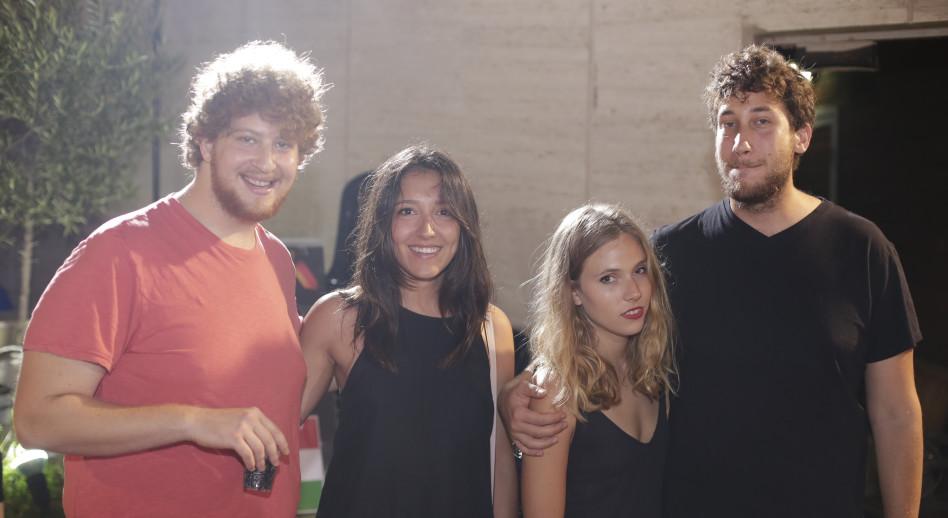 בן שפלן, אלכס ברקת, אורי ובת הזוג