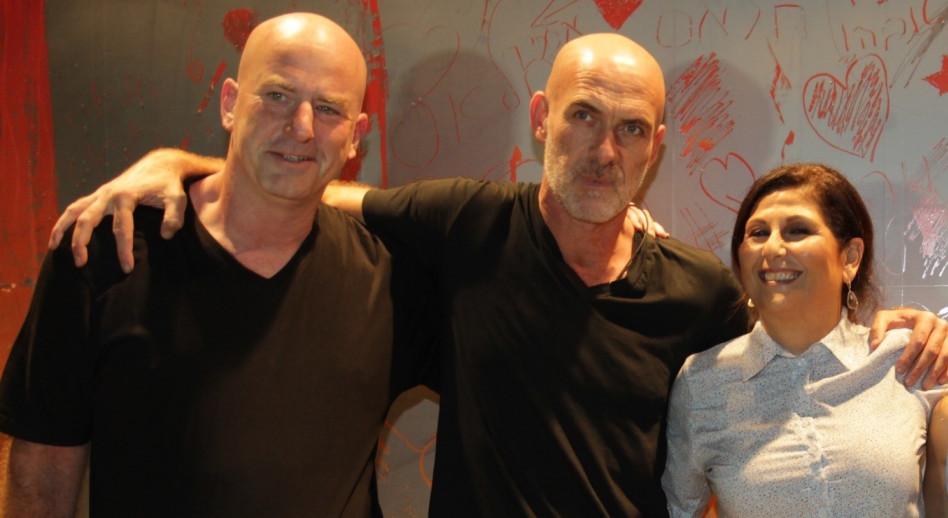 זוהר יעקובסון, מוטי רייף ואבי באום