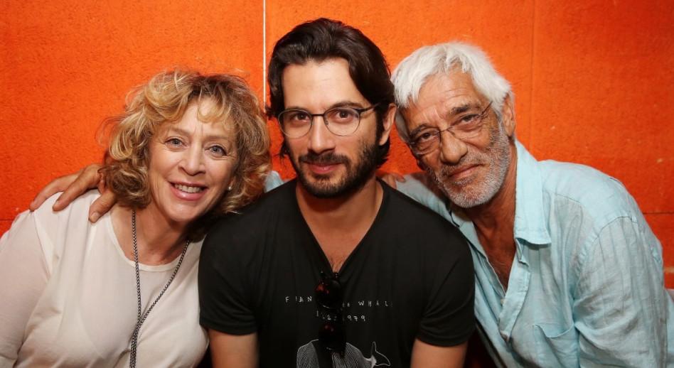 רן דנקר עם הוריו
