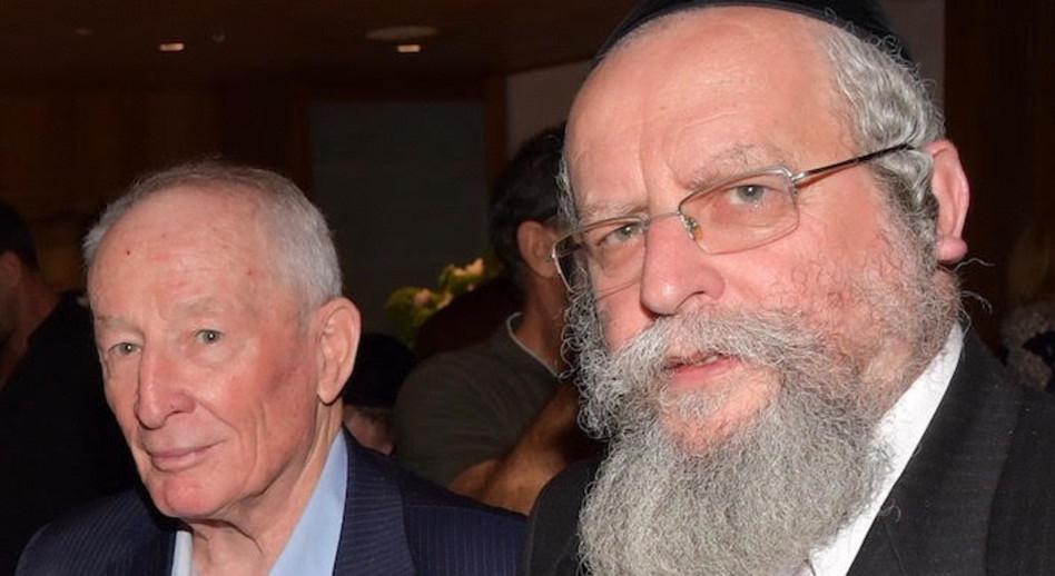 הרב פירר ויהודה וינשטיין