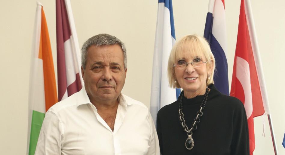 ישראלה שטיר ואורי יהודאי