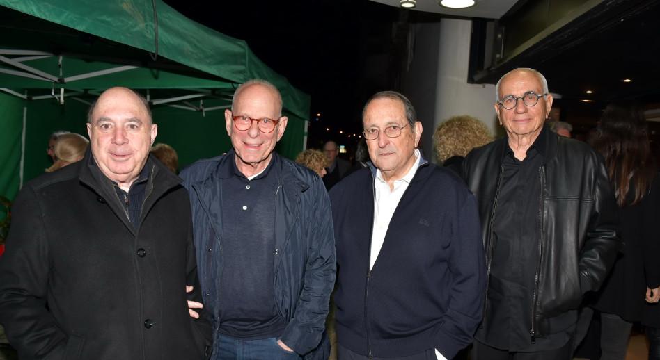 ישראל מקוב, אלי זהר, רמי אונגר ופיני רובין