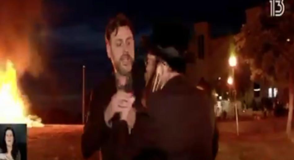 אלי לוי מותקף בשידור