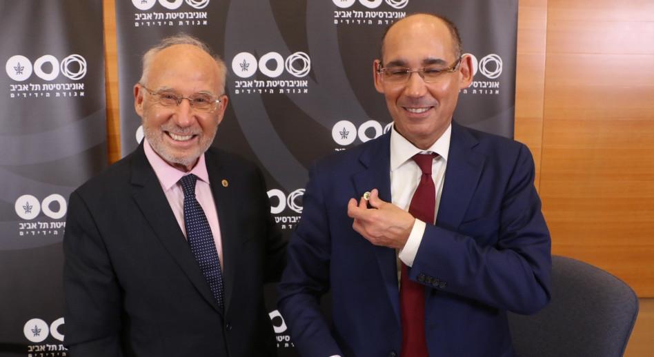 אמיר ירון ויעקב פרנקל