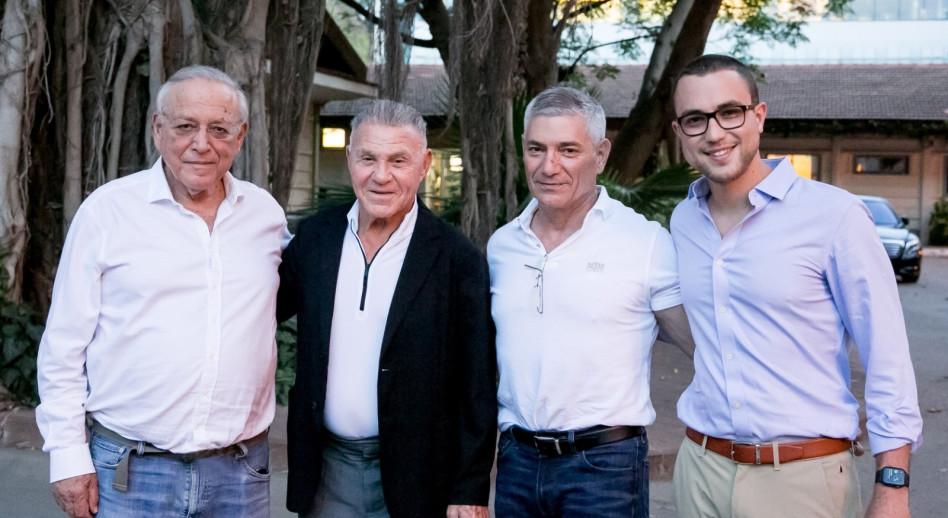 עומר, יואב, אלי פפושדו ואוריאל רייכמן