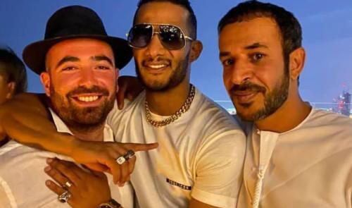 עומר אדם ומוחמד רמדאן בדובאי