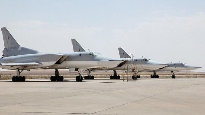 מטוסי קרב רוסים באיראן