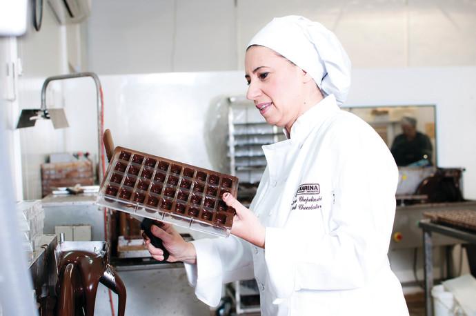 ייצור שוקולד ברמת הגולן