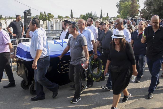 הלווייתו של בנימין פואד בן אליעזר