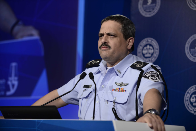 """מפכ""""ל המשטרה רוני אלשיך בוועידת המשפט"""