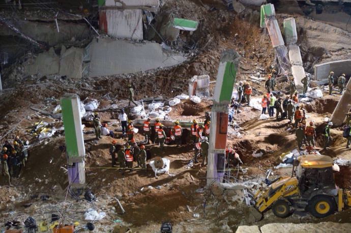 אסון קריסת החניון, רמת החייל תל אביב