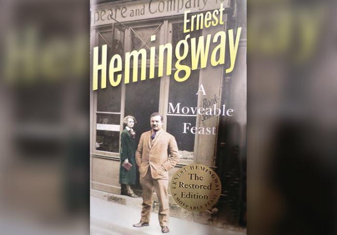 """""""A Moveable Feast"""", ארנסט המינגווי, ספרים"""