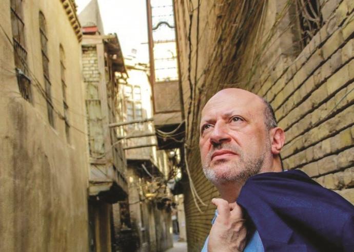 אדווין שוכר ברובע היהודי בבגדד