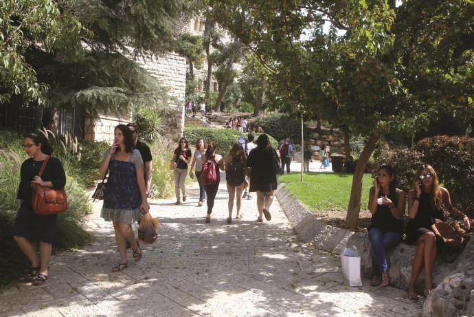 סטודנטים באוניברסיטה העברית, ארכיון