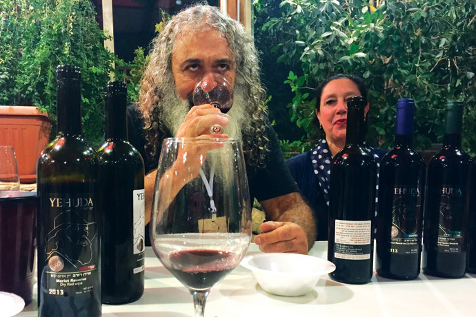 טעימות יין בהרי יהודה