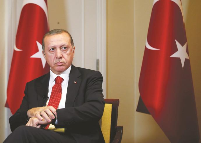 נשיא טורקיה רג'פ טאיפ ראדואן