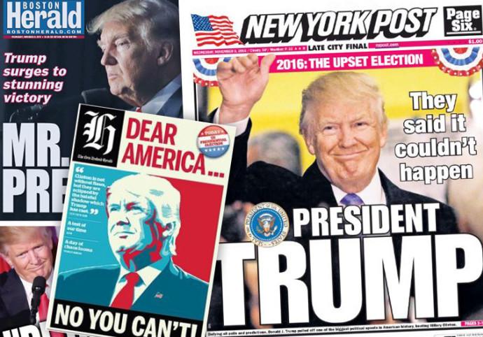 כותרות מהעולם, דונלד טראמפ