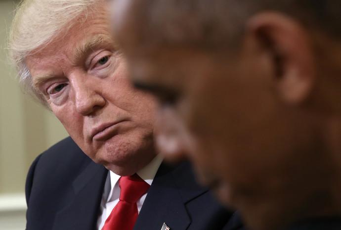 דונלד טראמפ, ברק אובמה