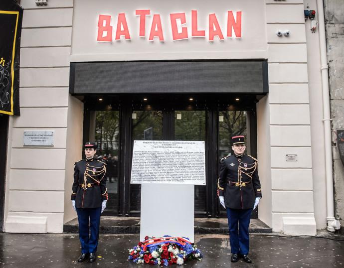 טקסי אזכרה, שנה למתקפת הטרור, בטקלאן, פריז