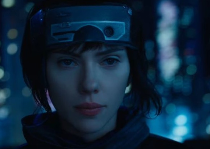 "סקרלט ג'והנסון ב-""Ghost In The Shell"""