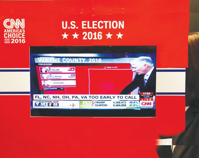 CNN מקבלת את טראמפ