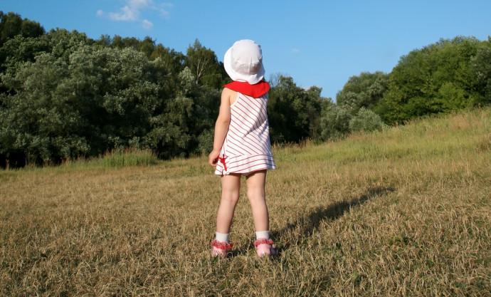 ילדה, אילוסטרציה