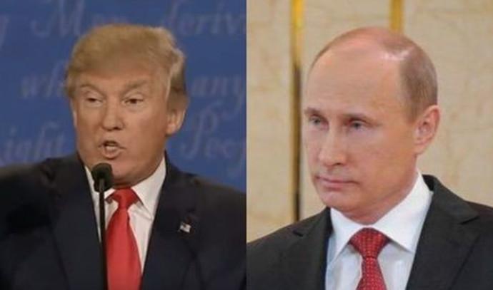 ולדימיר פוטין ודונלד טראמפ