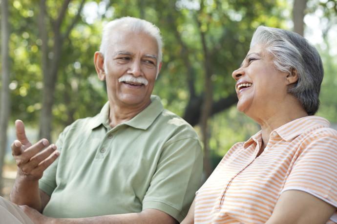 זוג מבוגרים, צילום אילוסטרציה