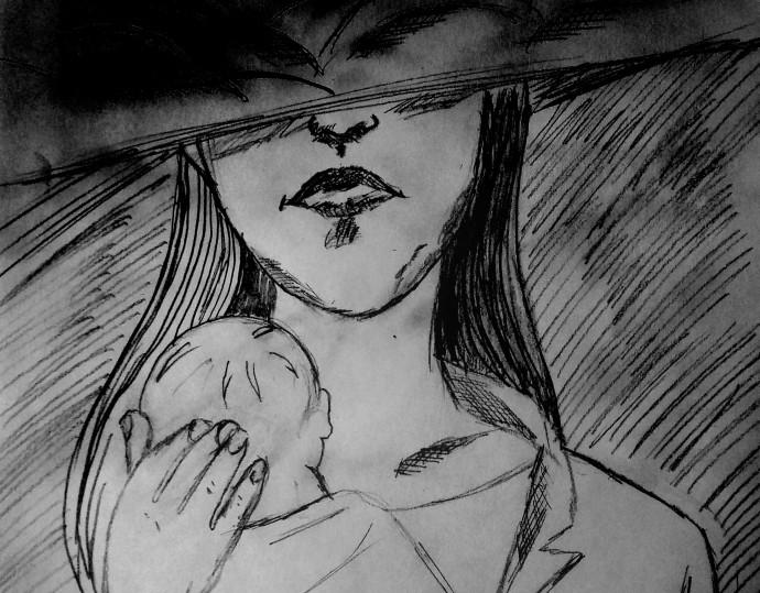 איור, דיכאון אחרי לידה