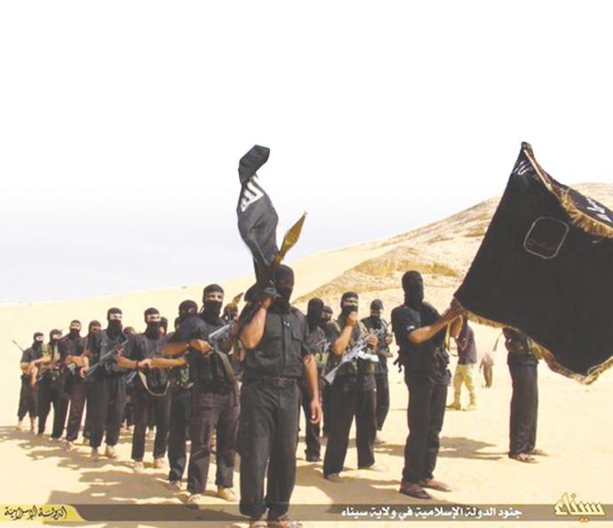 פעילי דאעש בסיני