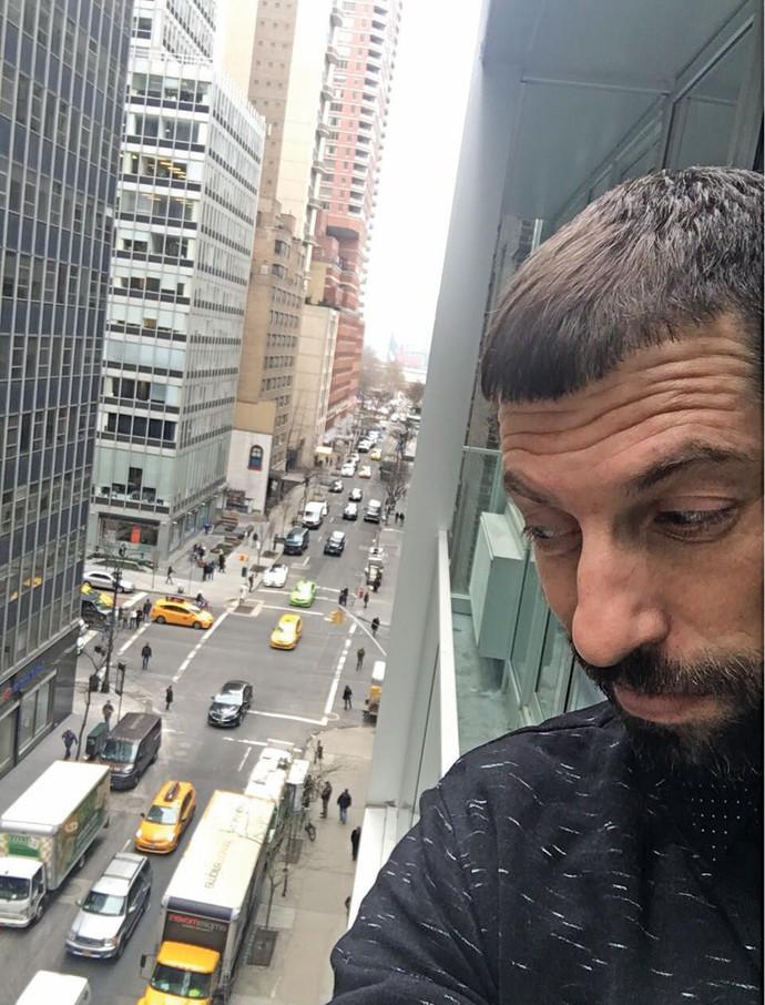 חיים אתגר בניו יורק