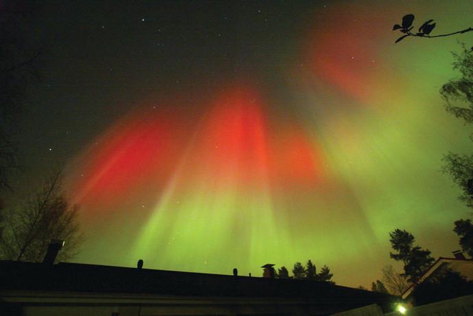 הזוהר הצפוני בפינלנד
