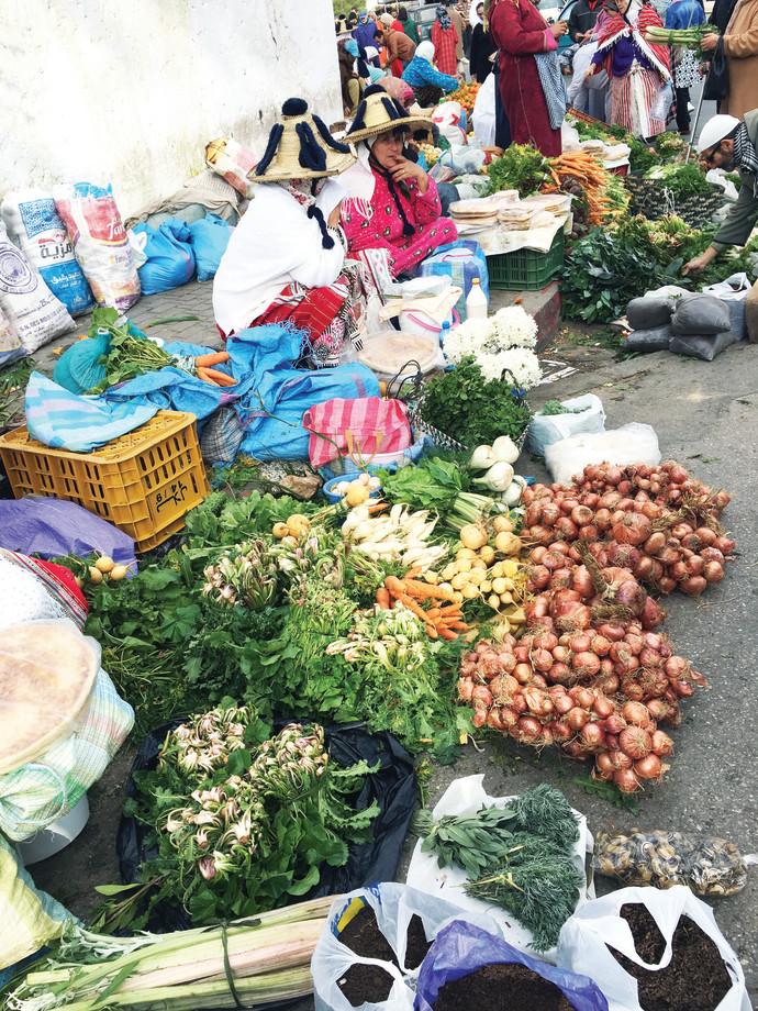 השוק הגדול, מרוקו