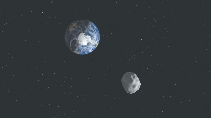 אסטרואיד ליד כדור הארץ