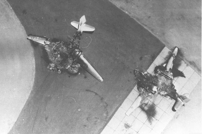 מטוסי חיל האוויר המצרי לאחר הפצצת חיל האוויר, 5.6.67