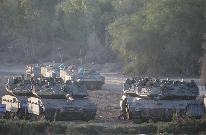 טנקי מרכבה של חיל השריון