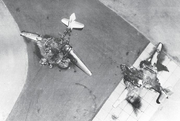 מטוסים מצרים שהופצצו במלחמת ששת הימים
