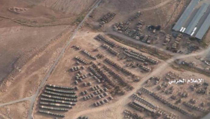 ריכוז כוחות בגבול של סוריה עם ירדן