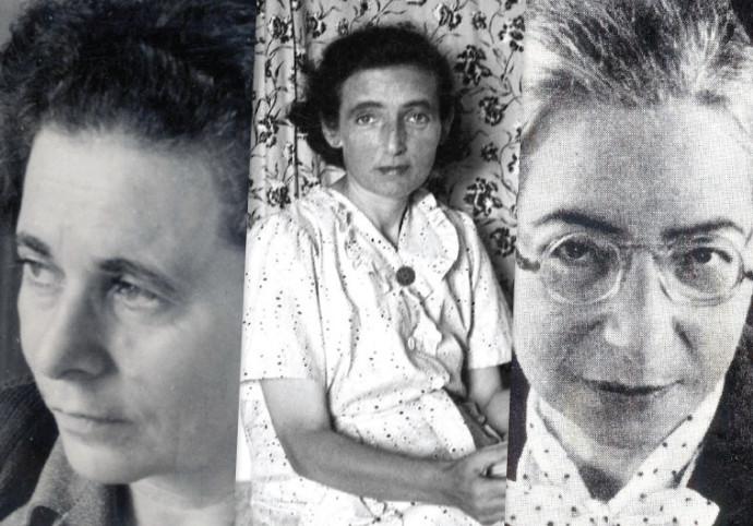 אנדה עמיר, פניה ברגשטיין ומרים ילן־שטקליס
