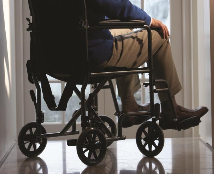 כיסא גלגלים, אילוסטרציה