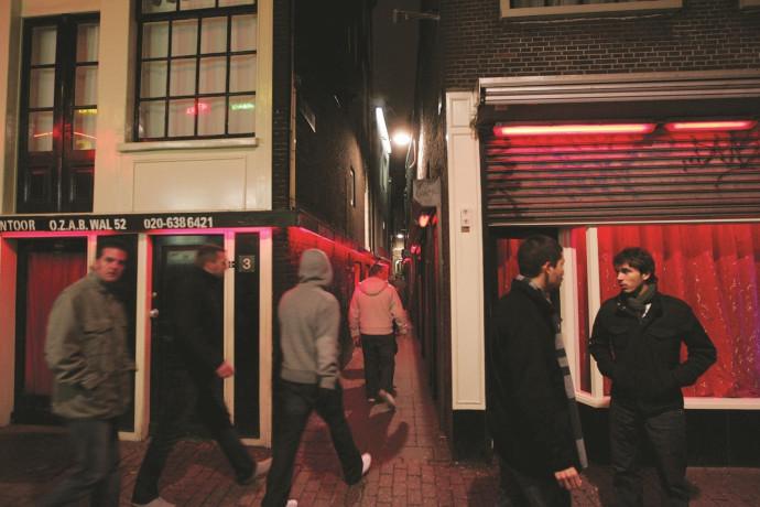 רובע החלונות האדומים באמסטרדם