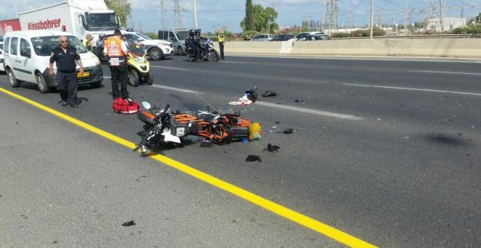 תאונת דרכים בכביש 5
