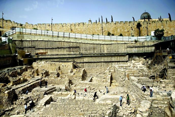 חפירות ארכיאולוגיות בירושלים