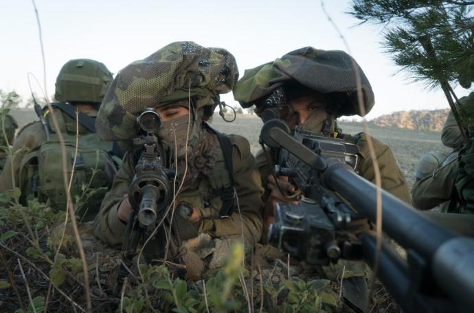 """חיילי חטיבת הקומנדו """"עוז"""""""