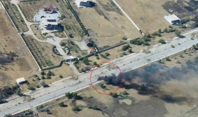 תיעוד תקיפת חיל האוויר בסוריה