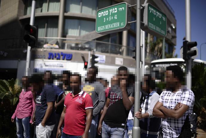 עובדים זרים בדרום תל אביב