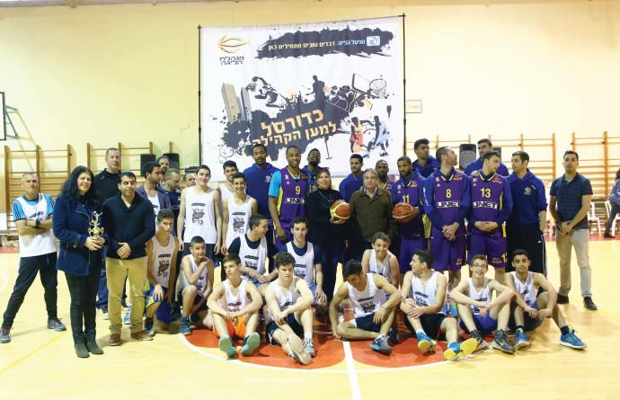 כדורסל למען הקהילה, חוף אשקלון